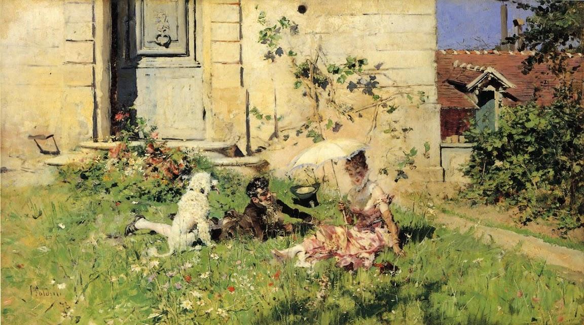 Giovanni Boldini - Spring