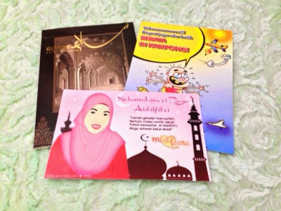 Kad Raya dari Blogger Mommy Irra Mialiana and BFF Raz