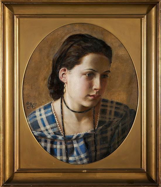 Kristian Zahrtmann - Portrait of Vilhelmine Erichsen - Google Art Project.