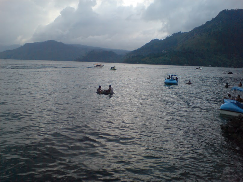 Swimming Area on Parapat