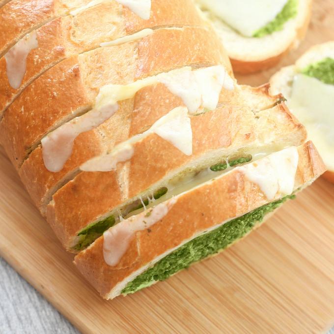 Pesto bread 023
