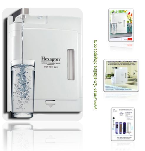 Hexagon Alkaline Hydrogen Water Filtration System มีดี