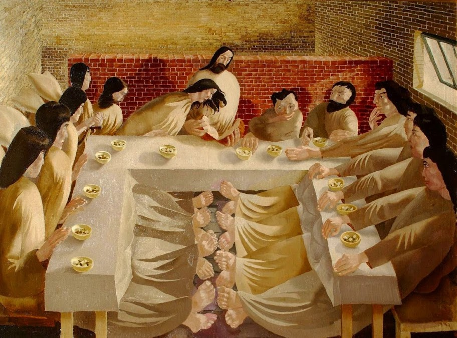 Stanley Spencer - Last Supper, 1920