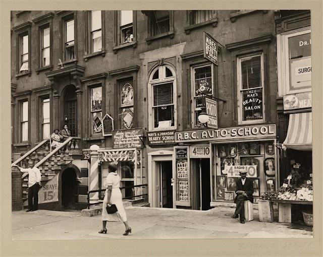 Harlem Street II, June 14, 1938