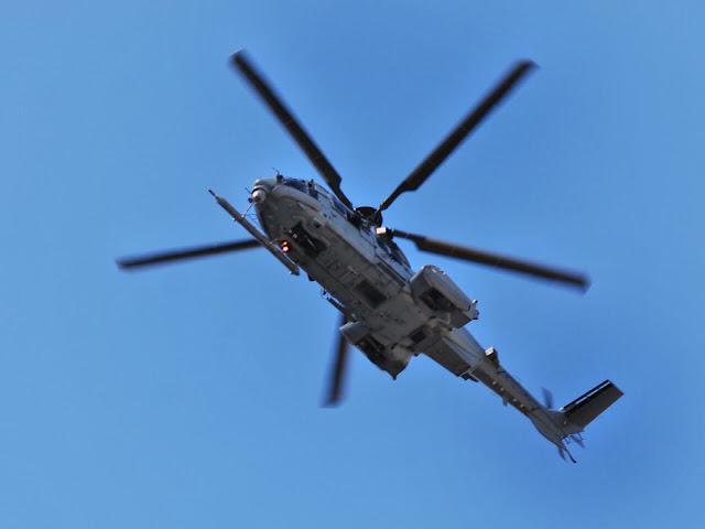 Exercício da Força Aérea passa pelo Interior do País