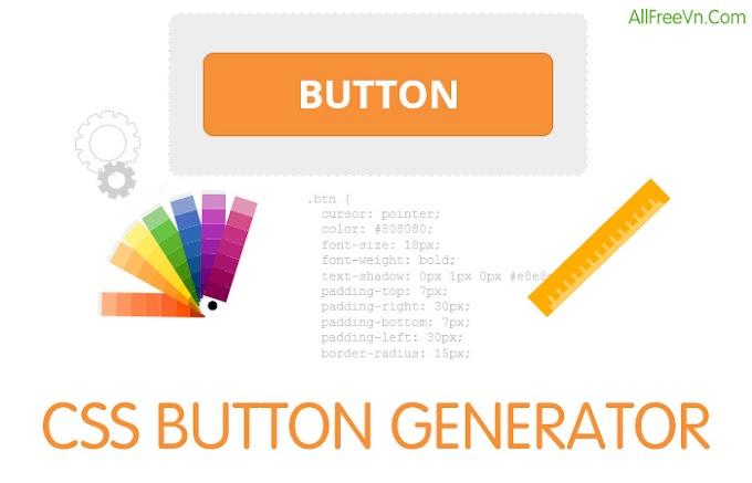 CSS Button Generator - Công cụ tạo CSS Button trực tuyến