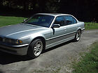 2001 Silver BMW 740iL Base Sedan 4-Door 4.4L NONSMOKER NO RESERVE