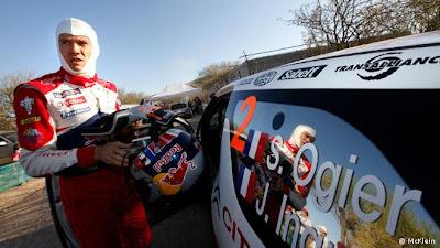 campeón de WRC de mejico