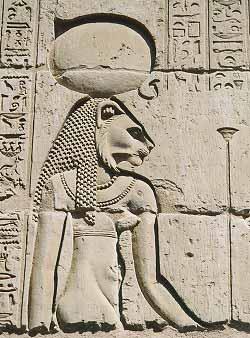 Goddess Tefnut Image