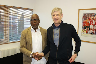 Wenger Pledges Co-operation With NFF