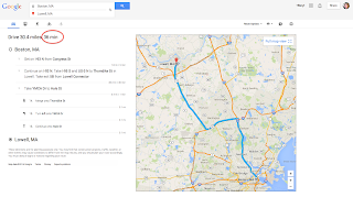 Directions Start Time and Date - Google Maps Help on