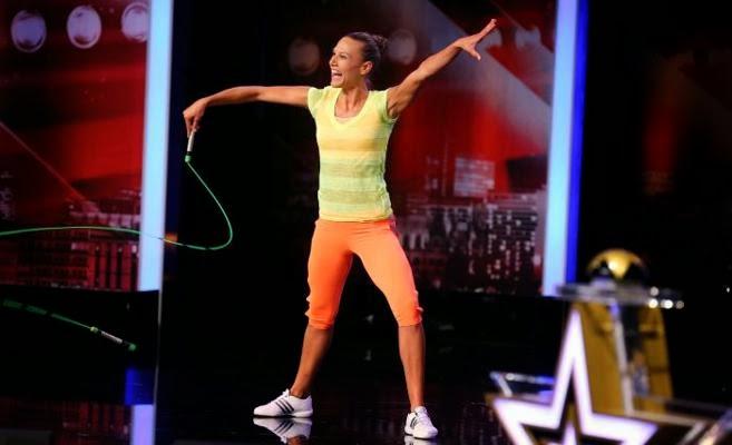 Adrienn Banhegyi Jump Rope Artist Amaze the audience with Impressive skills