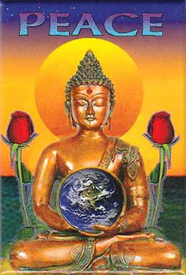 The Buddha Peaceful Protest Image