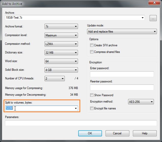 how to join split zip files