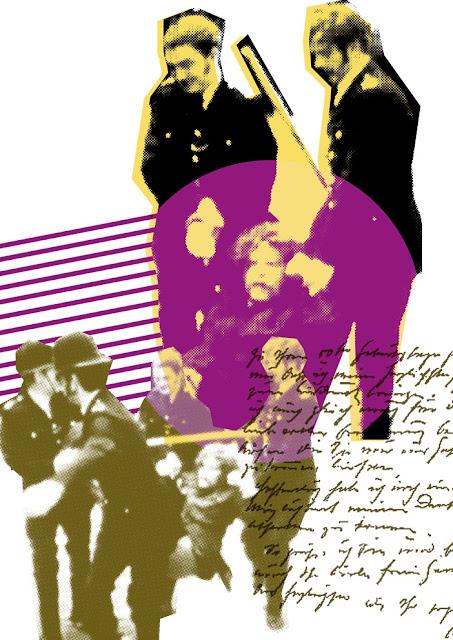 Marc Lawrence Original Silk Screen Print Design 'Collapse'