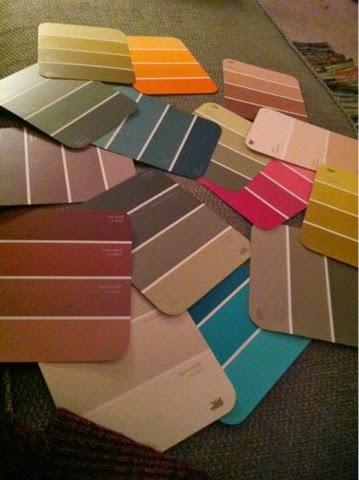 color block, color swatch, color
