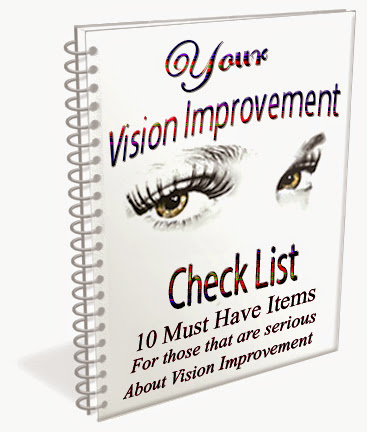 Your Vision Nutrition Checklist