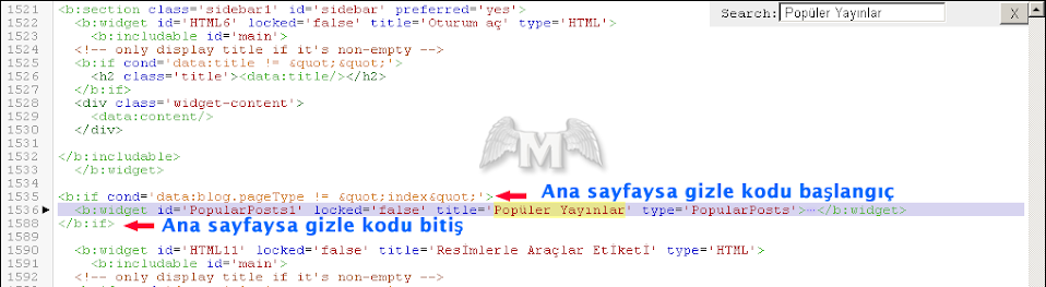Popüler yayınlar anasayfada gizle