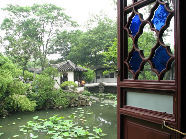 Looking Out at the Humble Administrator's Garden