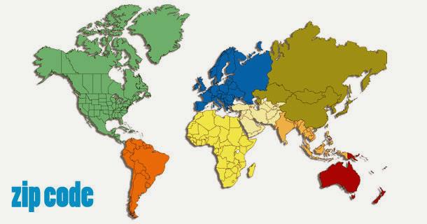 MÃ BƯu ChÍnh Zip Postal Code Europe: 50 States Of America Zip Code At Usa Maps