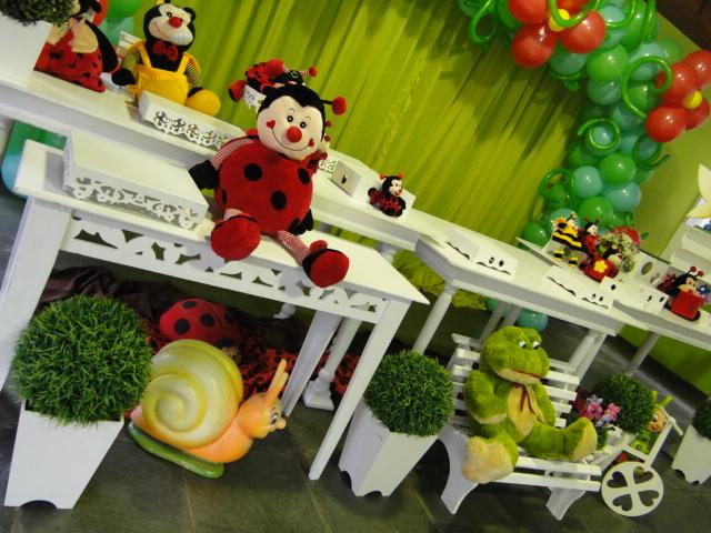 decoracao festa infantil jardim encantado joaninha : decoracao festa infantil jardim encantado joaninha:Victoria Decoração Infantil : Joaninha – Mesa Provençal