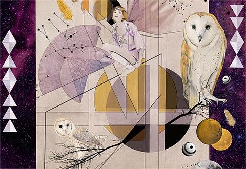 Visual evasion-inspiration illustration