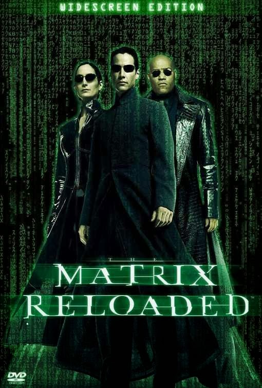 Poster Of The Matrix Reloaded (2003) Full Movie Hindi Dubbed Free Download Watch Online At Alldownloads4u.Com