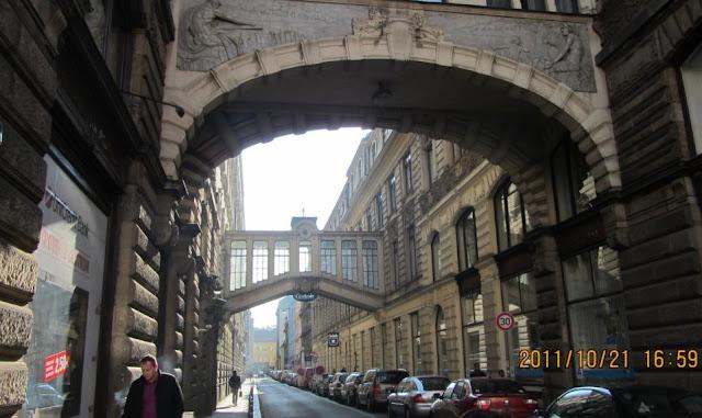 布拉格的街道