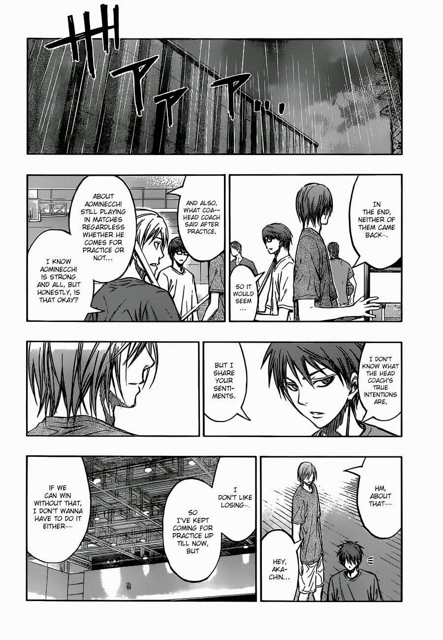 Kuroko no Basket Manga Chapter 220 - Image 18