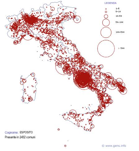 Mappe a simboli scalari