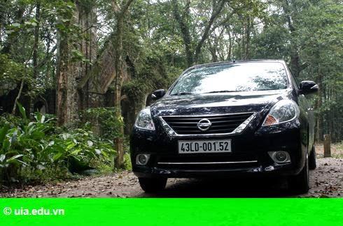 Hình 1: Nissan Sunny mới - thay đổi hợp thời