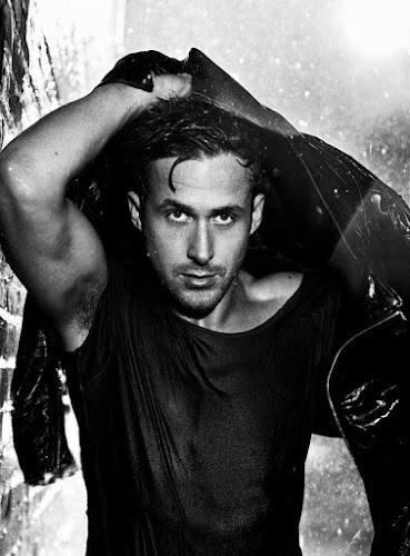 Ryan Gosling, blanco y negro