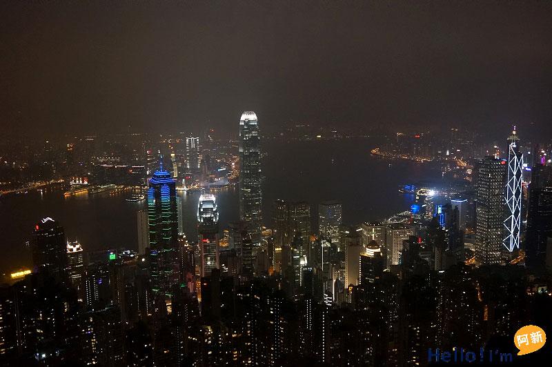 香港太平山夜景-9
