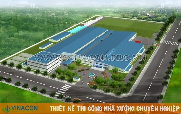 Thiết kế nhà xưởng Nhà máy Crystal Việt Nam
