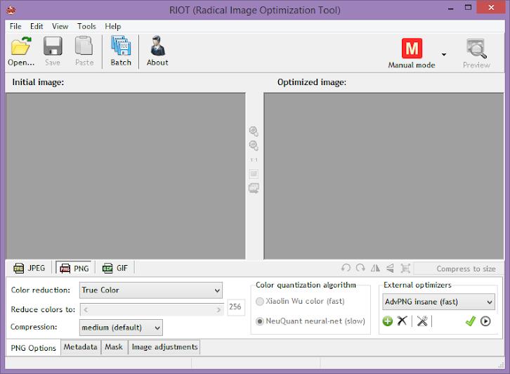 RIOT/Radical Image Optimization Tool