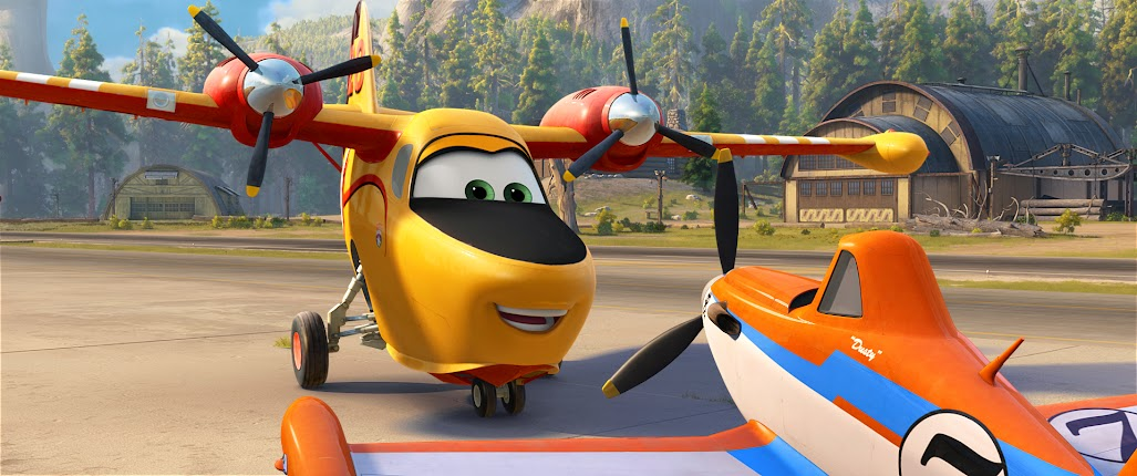 Disney Planes Fire and Rescue Review: Dipper and Dusty
