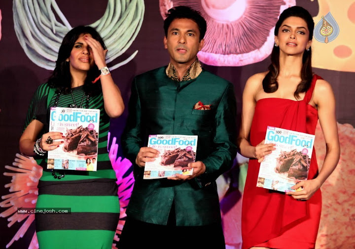 Bollywood Celebrities At BBC Food Guide Launch Function