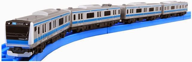 Đồ chơi Tàu hỏa cỡ nhỏ AS-11 E233 Keihin