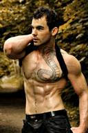 Hot Tattooed Studs Pictures Gallery 15