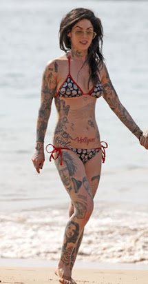 tattoos of kat von d