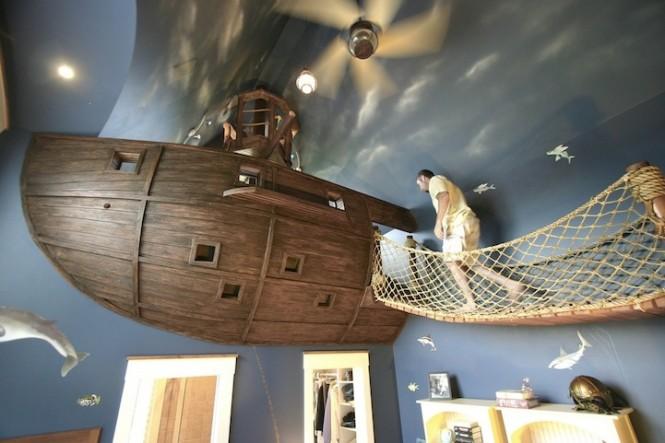 спалня за пирати