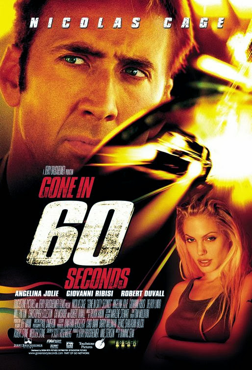Poster Of Gone in 60 Seconds (2000) Full Movie Hindi Dubbed Free Download Watch Online At Alldownloads4u.Com