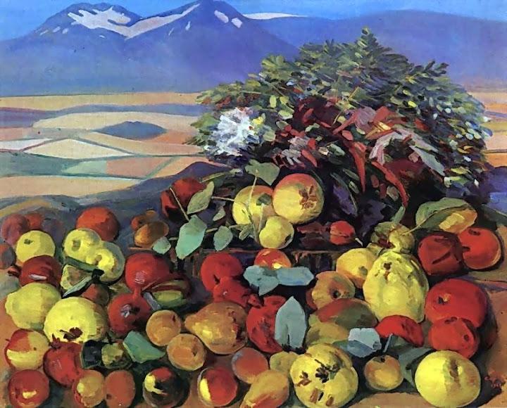 Martiros Saryan - Autumn still life, 1961