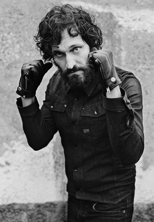 Vincent Gallo by Anton Corbijn for G-Star Raw, F/W 2011-12