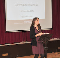 Katherine Perrin from 3VA Speaker at the AGM November 2013