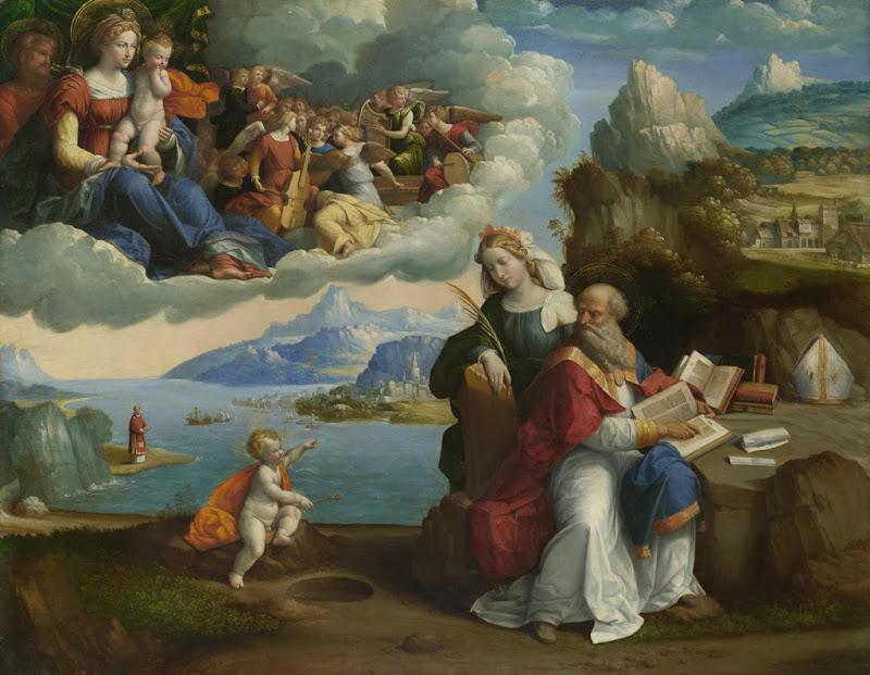 Garofalo - Vision of Saint Augustin