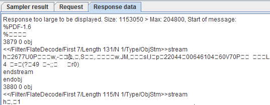 Response Data