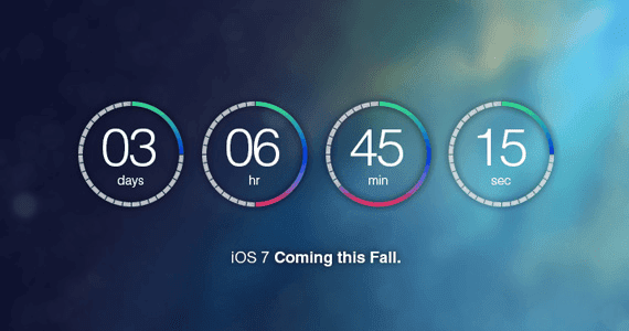 Create a Flat Countdown Timer in Photoshop – iOS 7 Inspired