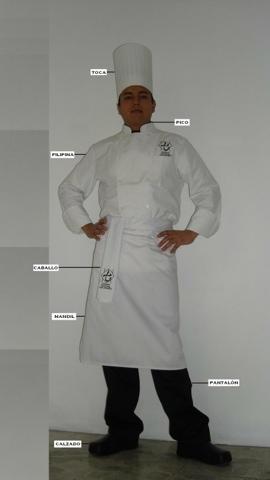 Thot kinji del uniforme de cocina y de los cocineros for Elementos de cocina para chef