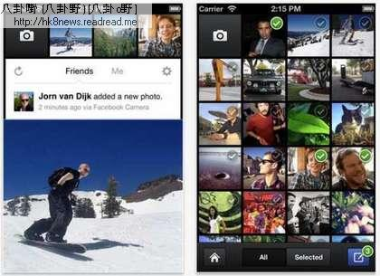 臉書照相機